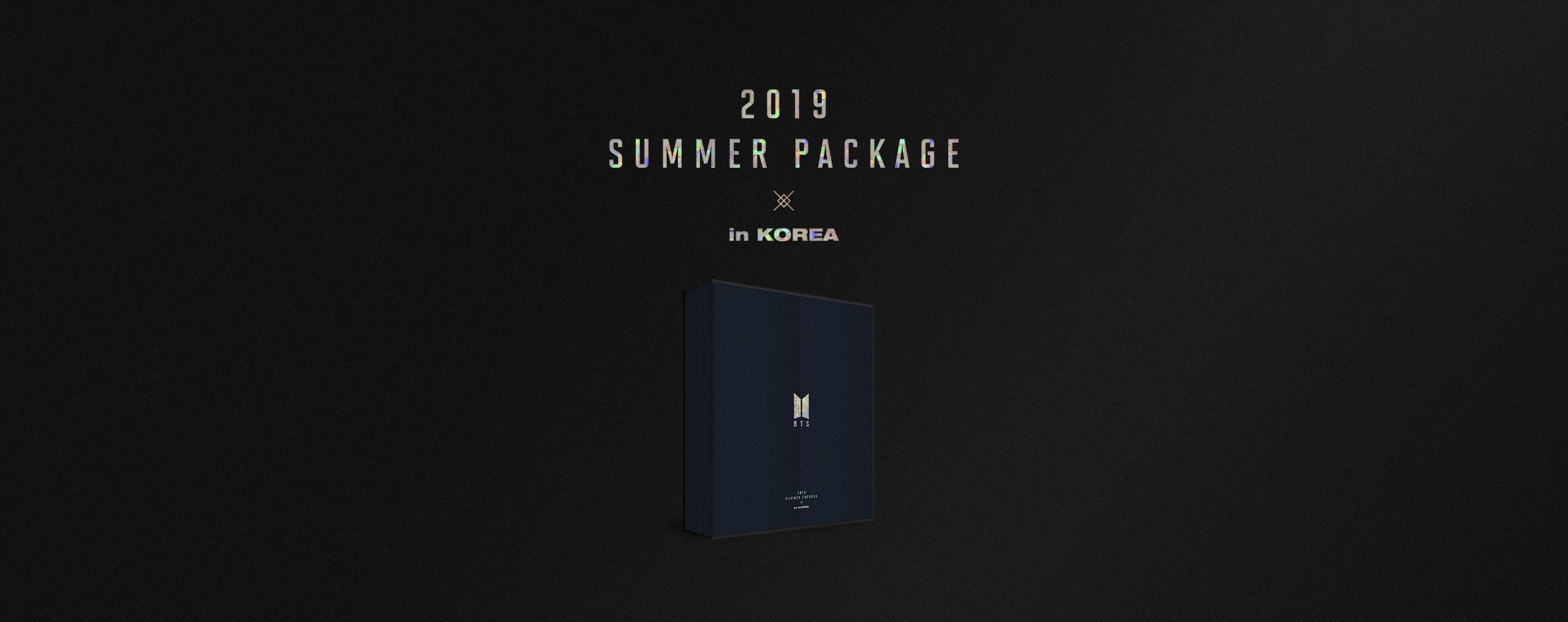 BTS 2019 SUMMER PACKAGE
