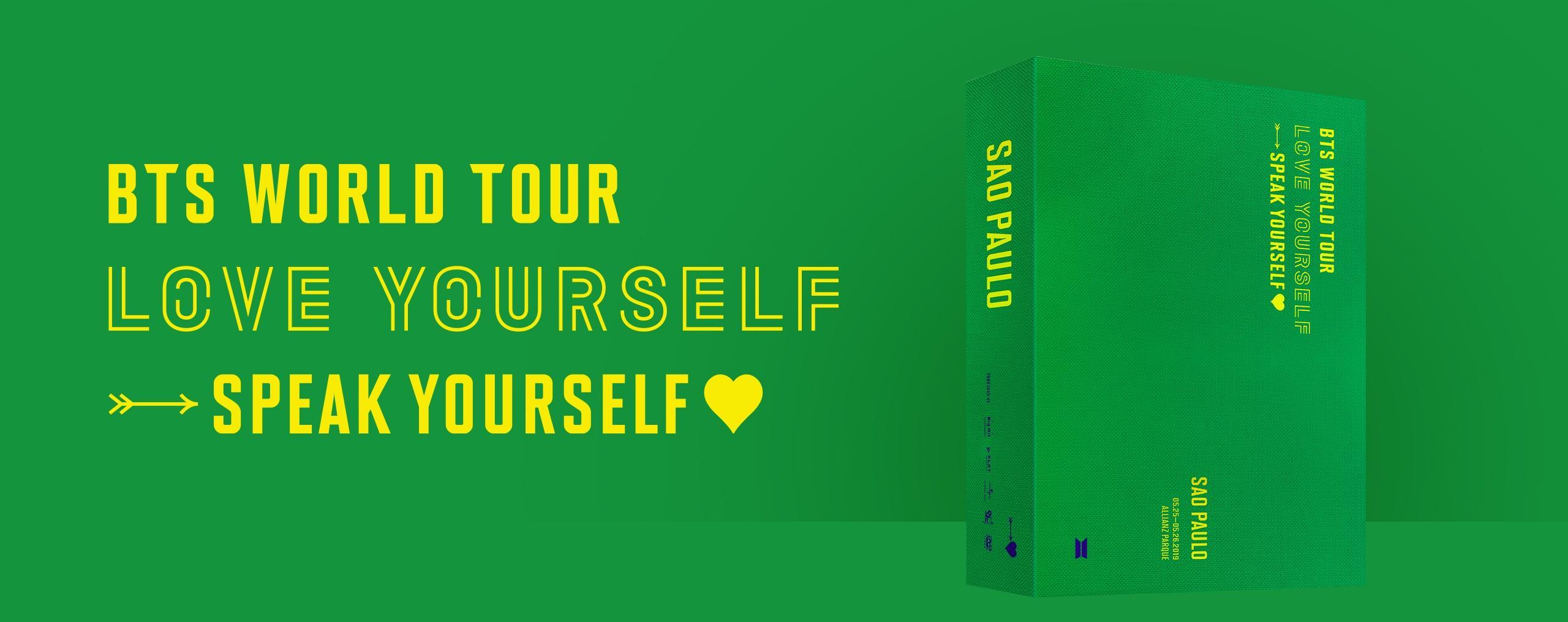 DVD「BTS WORLD TOUR 'LOVE YOURSELF: SPEAK YOURSELF' SAO PAULO」