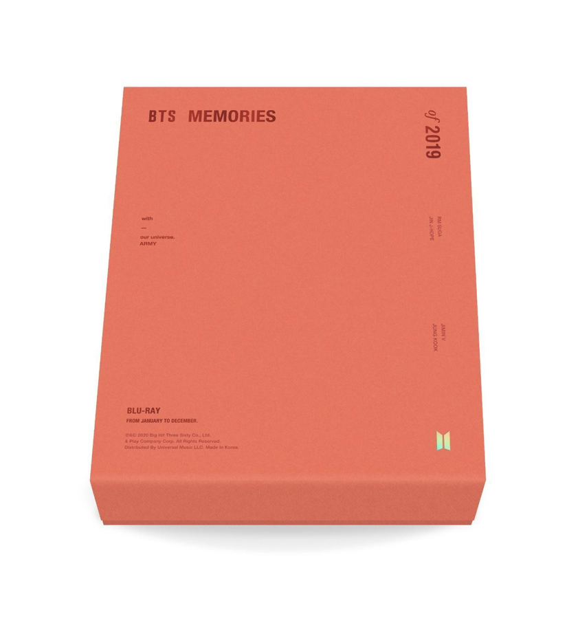 Blu-ray「BTS MEMORIES OF 2019」