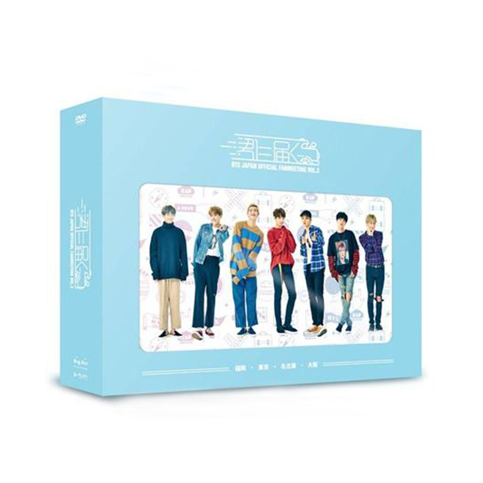 DVD「BTS JAPAN OFFICIAL FANMEETING VOL.3 ~君に届く~」