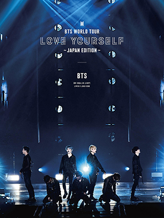 初回限定盤 Blu-ray「BTS WORLD TOUR 'LOVE YOURSELF' ~JAPAN EDITION~」