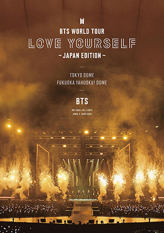通常盤 Blu-ray「BTS WORLD TOUR 'LOVE YOURSELF' ~JAPAN EDITION~」