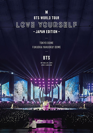 通常盤 DVD「BTS WORLD TOUR 'LOVE YOURSELF' ~JAPAN EDITION~」