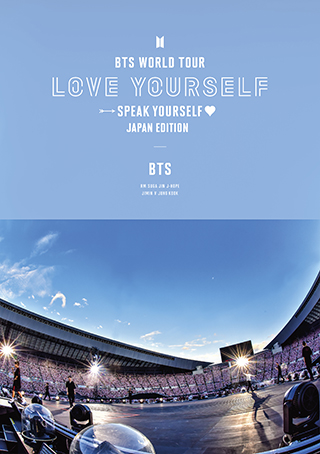 通常盤Blu-ray「BTS WORLD TOUR 'LOVE YOURSELF: SPEAK YOURSELF' – JAPAN EDITION」