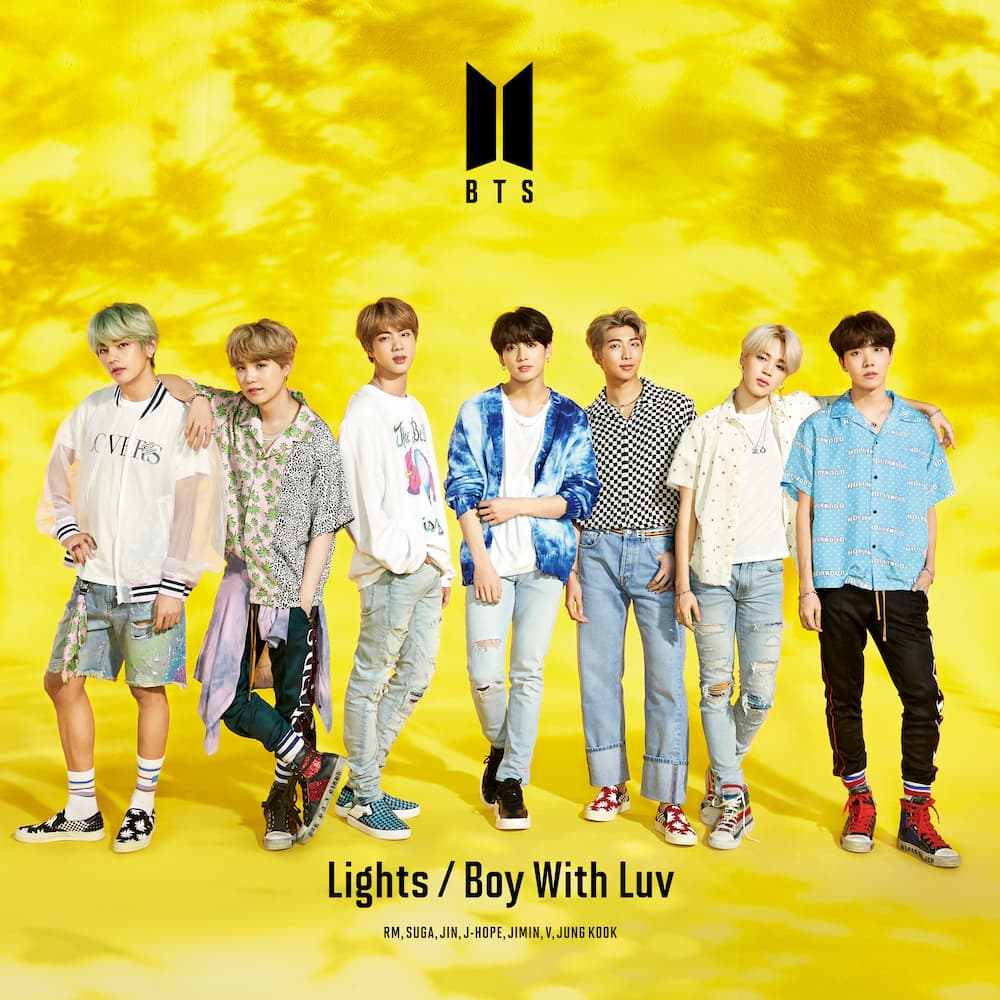 「Lights/Boy With Luv」<初回限定盤A>